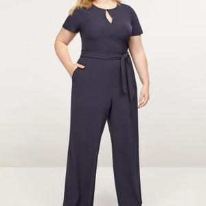Lane Bryant Lena Keyhole Jumpsuit Size 26
